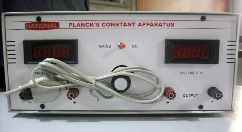 Planck's Constant Apprratus