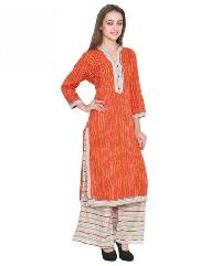 Ladies Kurti with Palazzo Pant 01