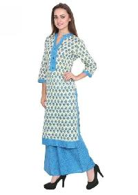 Ladies Kurti with Palazzo Pant 07