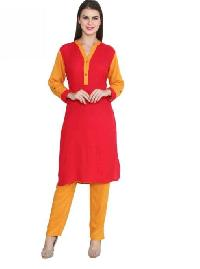 Ladies Kurti with Straight Pant 16