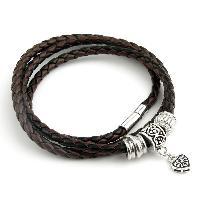 Ladies Leather Bracelet 01