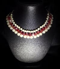 Coloured Pearl Necklace 01