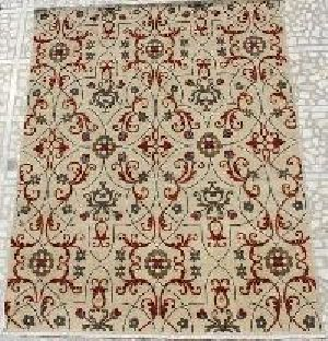 Hand Knotted Indo Nepali Carpet 11