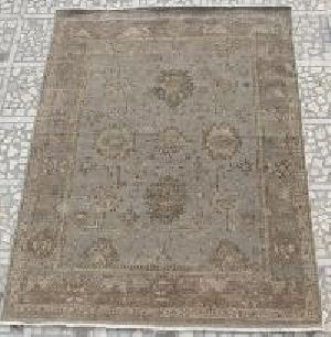 Hand Knotted Indo Nepali Carpet 12