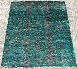 Hand Knotted Indo Tibetan Carpet 13