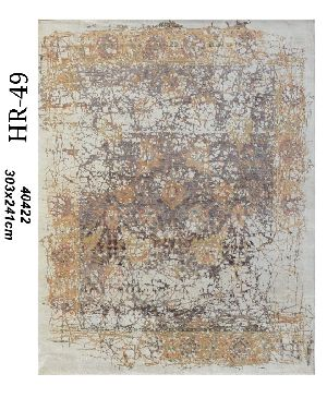 Hand Knotted Indo Tibetan Carpet 15
