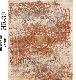 Hand Knotted Indo Tibetan Carpet 16