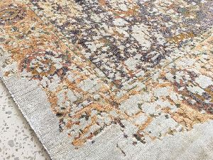 Hand Knotted Indo Tibetan Carpet 19