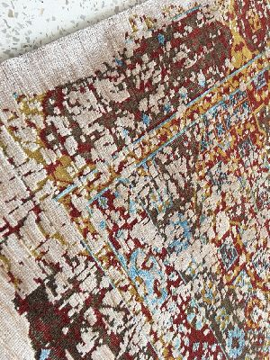 Hand Knotted Indo Tibetan Carpet 22