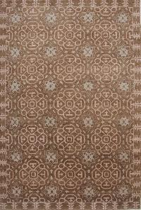 Hand Knotted Indo Tibetan Carpet 03