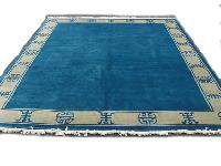 Hand Knotted Indo Tibetan Carpet 04