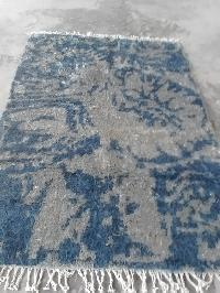 Hand Knotted Jute Rug 02