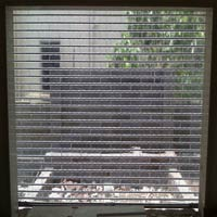 Polycarbonate Clear link Rolling Shutters