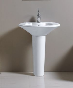 Plain Pedestal Wash Basins