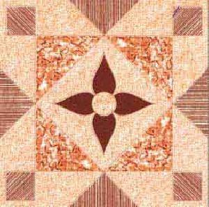 SC25021 - 400 x 400mm Glossy Ivory Series Floor Tile