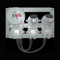 Flameproof  Two Way Extension Board