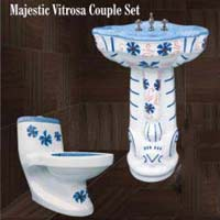 Majestic Wash Basin and Toilet Set