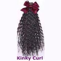 Kinky Curl Weft Hair