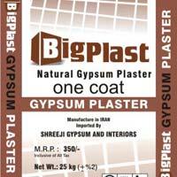 Bigplast Natural Gypsum Plaster
