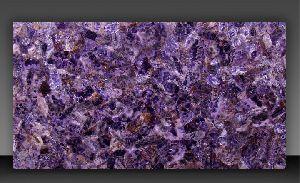 Amethyst Semi Precious Slab 06