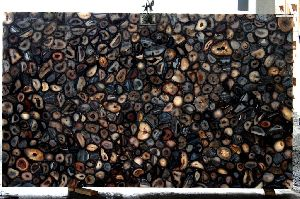 Black Agate Slab