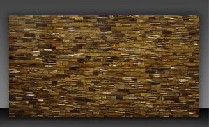 Gold Tiger Eye Semi Precious Slab 02