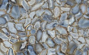 Grey Agate Slab 03