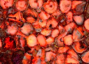 Red Carnelian Gemstone Slab 02