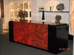Red Carnelian Gemstone Slab 08