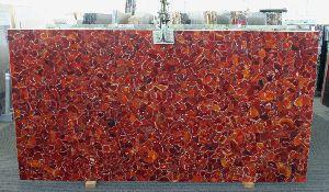 Red Carnelian Gemstone Slab 10