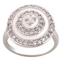 Ladies Silver Ring (SR013)