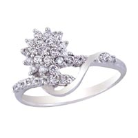 Ladies Silver Ring (SR018)