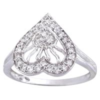 Ladies Silver Ring (SR019)