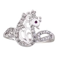 Ladies Silver Ring (SR028)