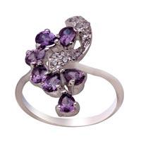 Ladies Silver Ring (SR049)