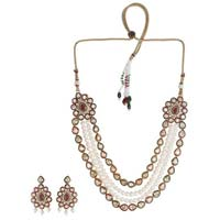 Multi Line Necklace Set 10