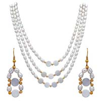 Multi Line Necklace Set 18