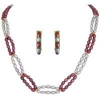 Multi Line Necklace Set 26