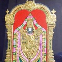 Tanjore Paintings of Balaji