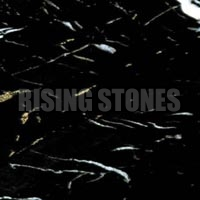 Black Gold Marble Stone