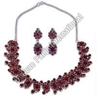 Silver Necklace Set (98gm)