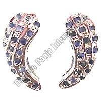 Silver Short Earrings (2.5gm)