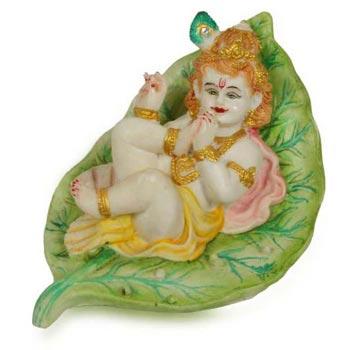 Cultural Marble Krishna Statue