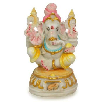 Cultural Marble Ganesh Statue