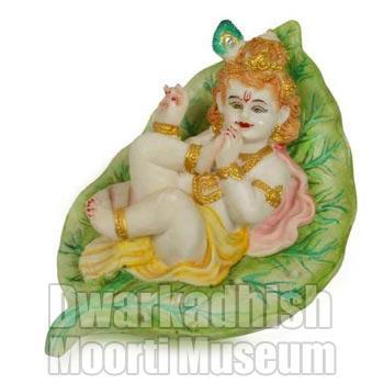 Cultural Marble krishna Statue 01