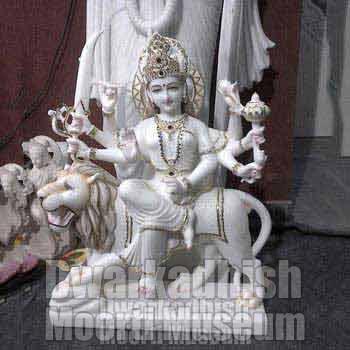 Marble Durga Maa Statues 03