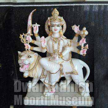 Marble Durga Maa Statues 01
