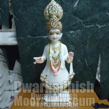 Marble Swaminarayan Statue