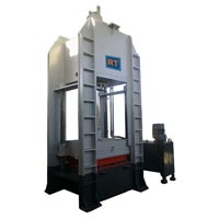 Industrial Hydraulic Press Machine (125 Ton)