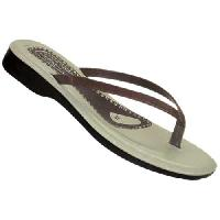 Ladies Slippers-1002 Blk / Br /Tan